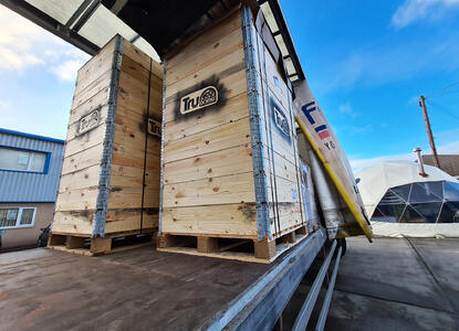 TruDomes Packaging Pallet Delivery 2021 (2)